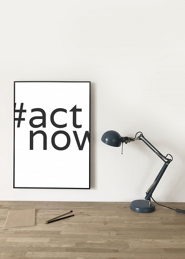 Poster Yoga Eco Series #actnow
