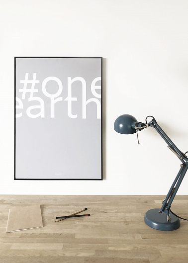 Poster Yoga Eco Series #oneearth